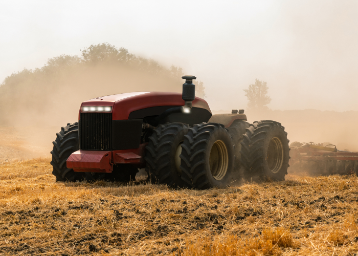 moderne tractor