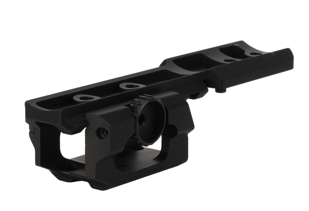 tactical component mount on rail mill 9513